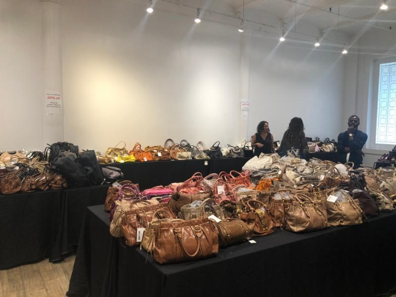 LXR & Co sample sale designer vintage bags