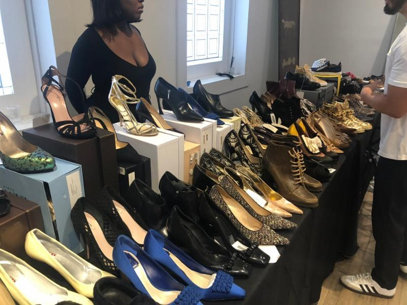 LXR & Co sample sale shoes