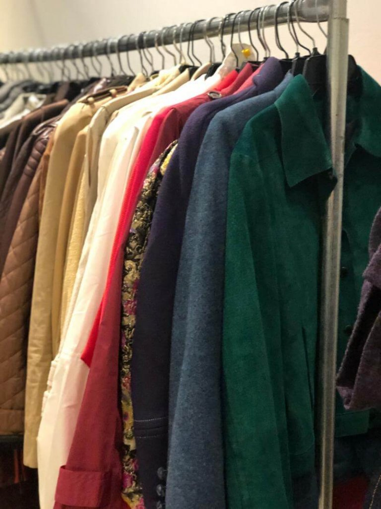LXR & Co sample sale vintage pre-owned clothes