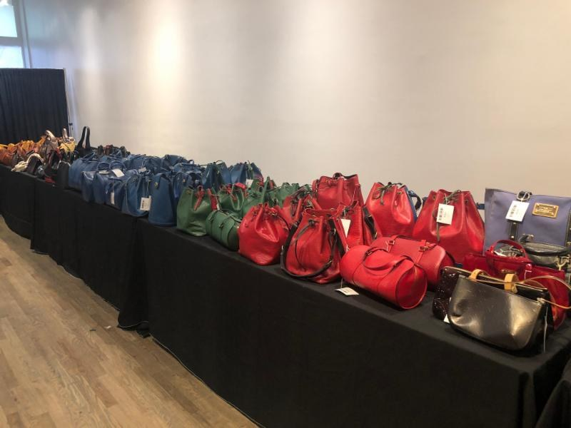 LXR and Co sample sale Vuitton Epi bags