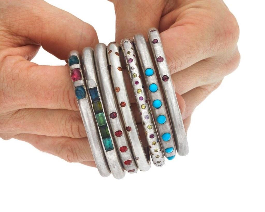 marla aaron sample sale jewelry bracelets
