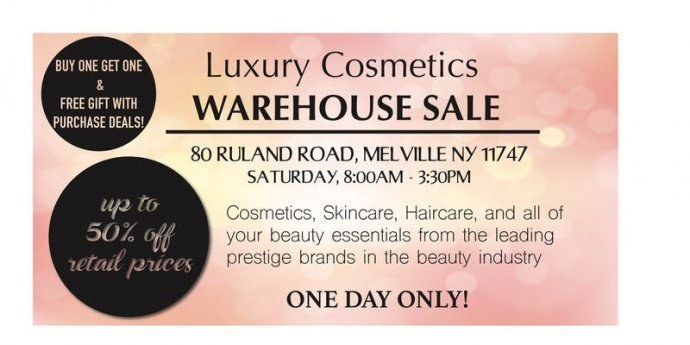 estee lauder warehouse sample sale