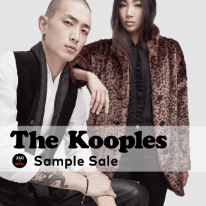 the kooples sample sale NYC