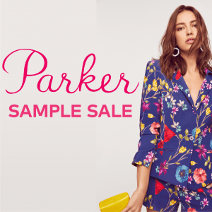 Parker NYC dresses sample sale