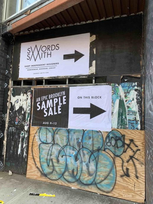 Williamsburg indie boutique Swords-Smith closing forever