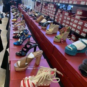 Ferragamo NYC sample sale shoes