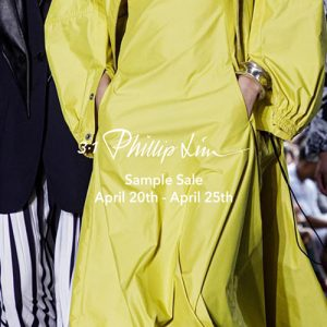 3.1 Phillip Lim sample sale NYC